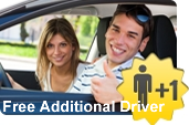 Free Additional Driver within California